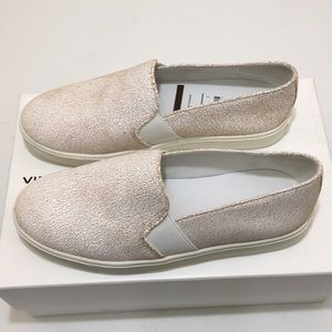 Vince Blair 12 White Cracked Leather Leather 6.5 M